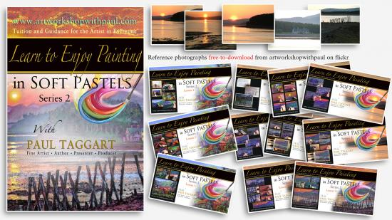 '[Series 2] Learn to Enjoy Painting in Soft Pastels with Paul Taggart'