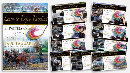 '[Series 3] Learn to Enjoy Painting in Pastels (Sketching) with Paul Taggart'