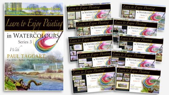 '[Series 3] Learn to Enjoy Painting in Watercolours with Paul Taggart'