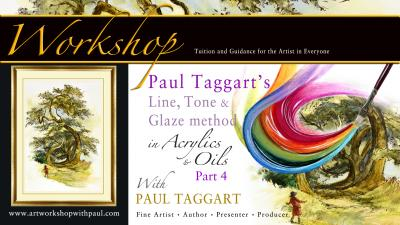 UNIQUE TUTORIAL WORKSHOP from Artist & Author Paul Taggart