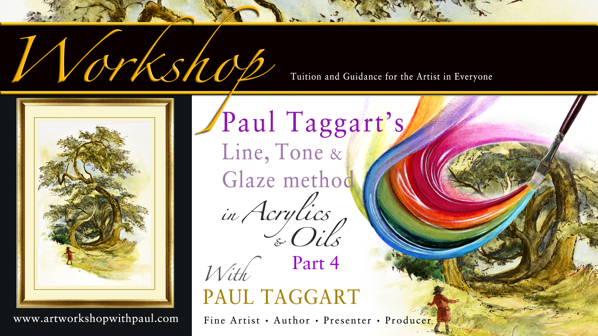 Paul taggarts newsletter unique tutorial workshop from artist unique tutorial workshop from artist author paul taggart kristyandbryce Choice Image